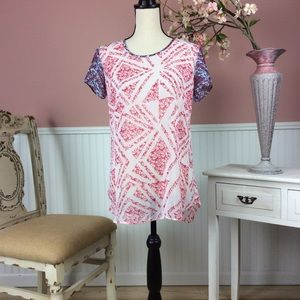 CAbi Sheer Top Size S